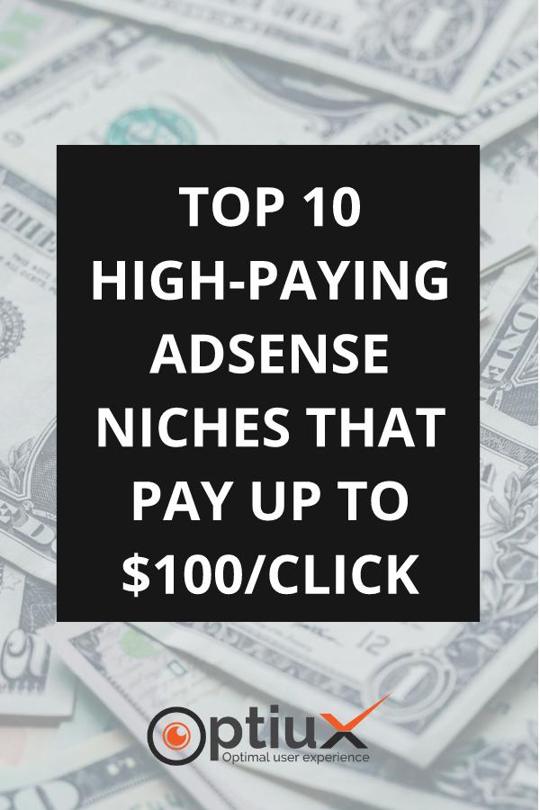 High Paying AdSense Niches
