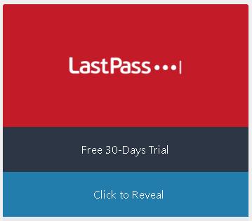 LastPass Coupon CTA