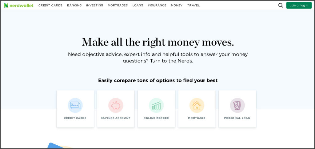 NerdWallet - Amazon Affiliate Websites #2