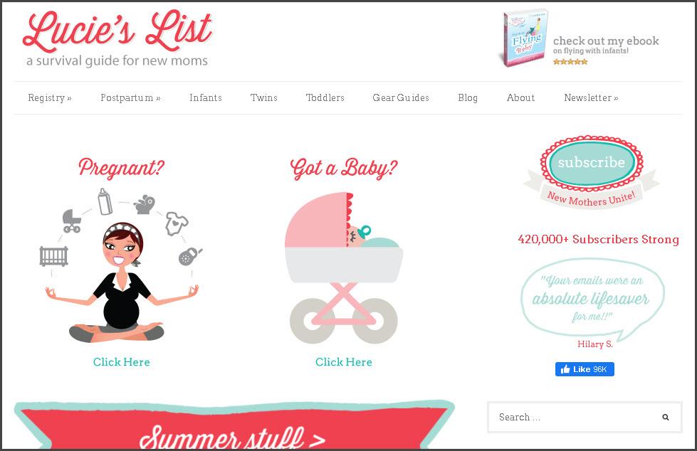 Lucie's List Amazon Affiliate Success