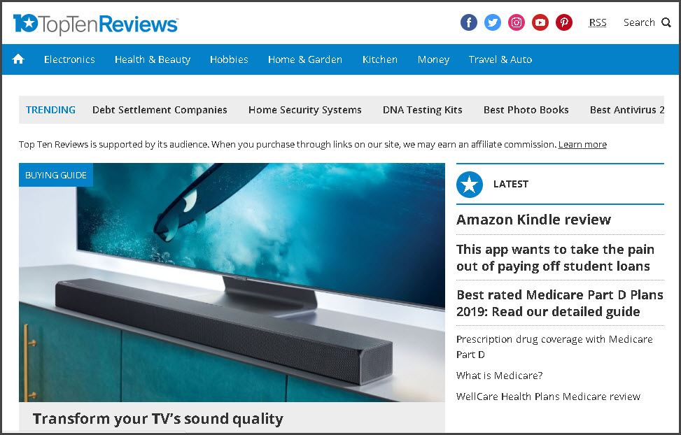 TopTenReviews.com Review