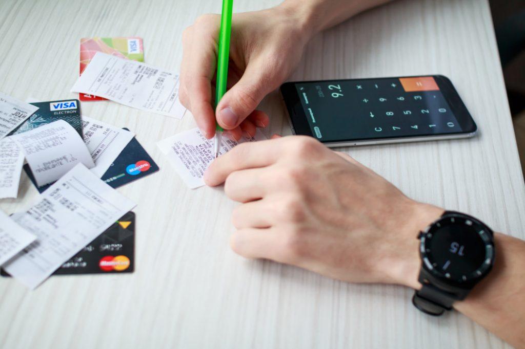 Clear of debts